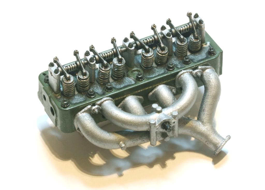 Citroen Traction Avant Engine & Gearbox Renderings